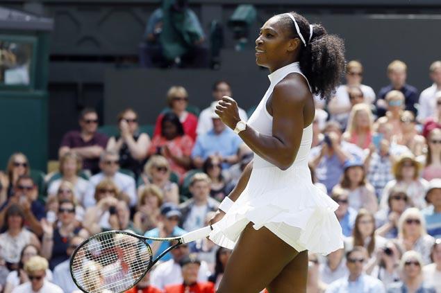 No all-Williams Wimbledon final as Serena cruises but Venus falls to Angelique Kerber in semis
