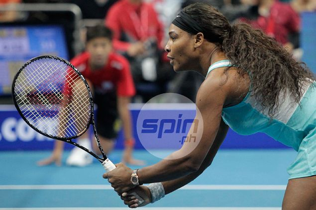 Serena Williams surprised by 'amazing reception' from Pinoy fans in IPTL Manila stop