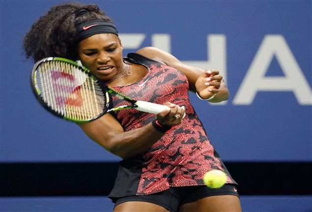 Serena Williams breezes into US Open second round as Russian foe stops playing