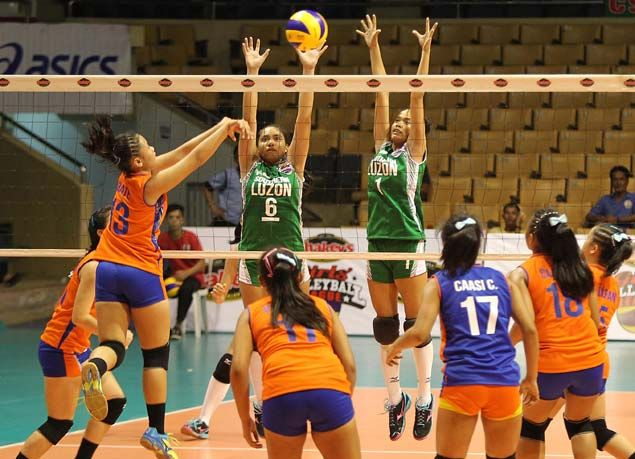 NCR's National University, Western Visayas' Central Philippine University win opening matches in Girls' V-League national finals