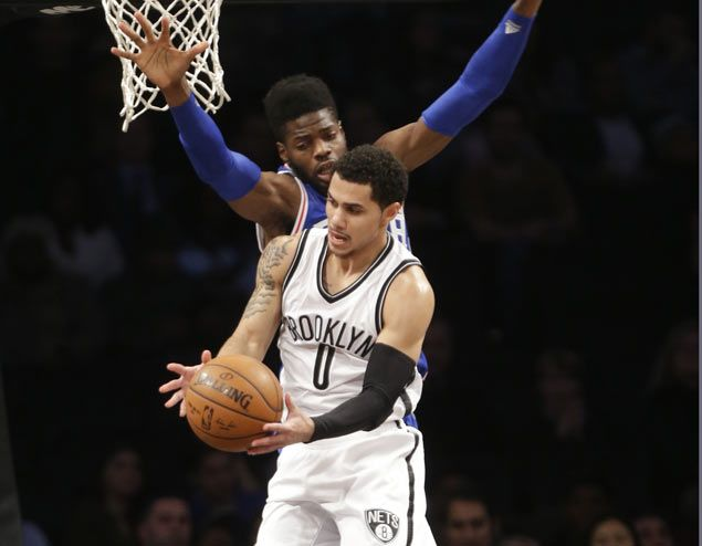 Andrea Bargnani finds his shooting touch as Brooklyn Nets beat misfiring 76ers