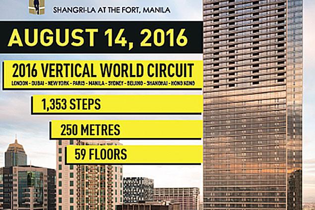Shangri-La at the Fort to host inaugural Kerry Sports Manila Vertical Run