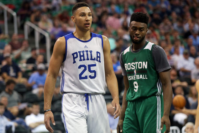 Ben Simmons turns heads in NBA debut despite early injury exit and 76ers loss to Celtics