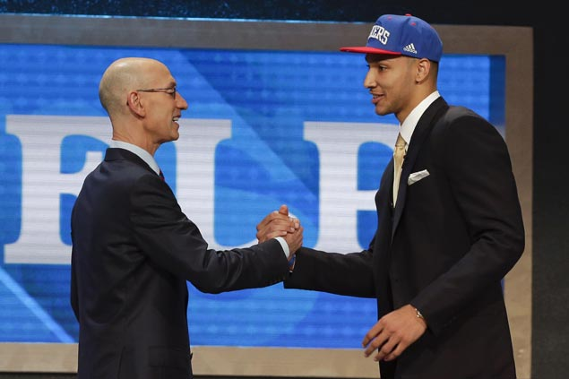 Philadelphia 76ers make Ben Simmons the top pick overall of 2016 NBA Draft