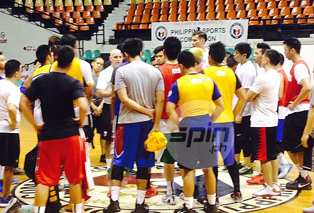 Gilas coach Tab Baldwin spoiled for choice as best of the best in college hoops shows up for tryouts