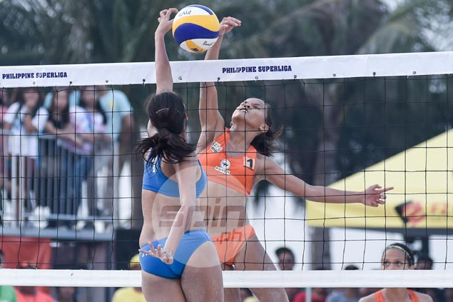 PSL champion Jovelyn Gonzaga all praises for explosive beach volley rival Cherry Rondina