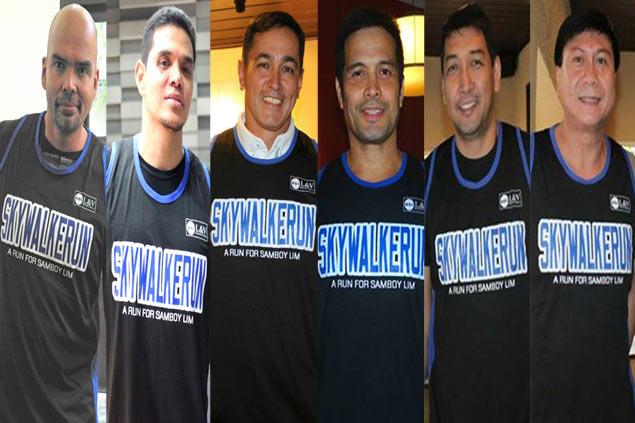 PBA legends team up to help promote benefit run for 'Skywalker' Samboy Lim
