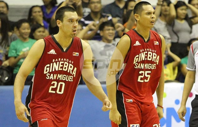 Tim Cone anoints Slaughter-Aguilar frontline tandem as Ginebra's new go-to-guys