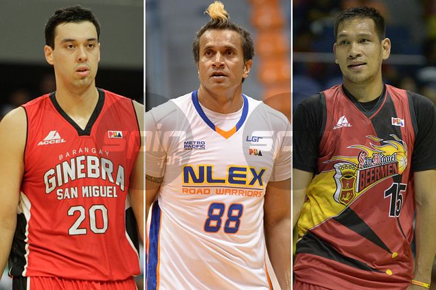 'Triple Towers' Fajardo, Slaughter, Taulava to start for South after emerging top vote-getters for PBA All-Star Game