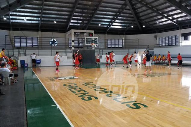 No rest for the motivated as San Miguel holds practice on Maundy Thursday
