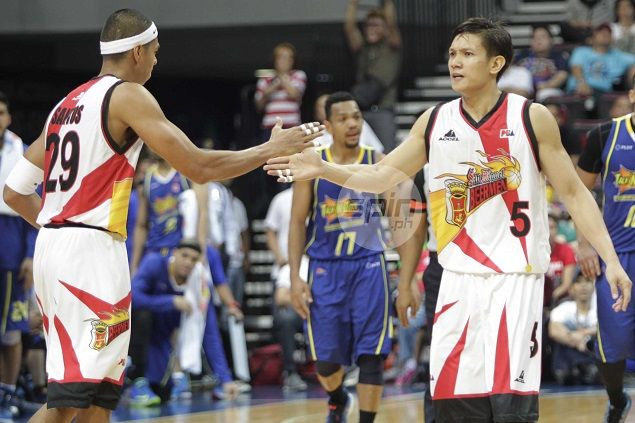 SMB 'balikbayan' Cabagnot glad to still be in hunt for championship - and not on vacation
