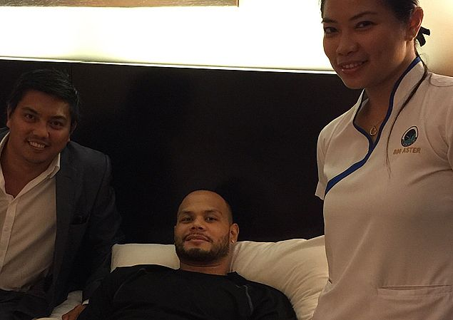 Sol Mercado overcomes food poisoning, gets ready to play for Ginebra in Dubai