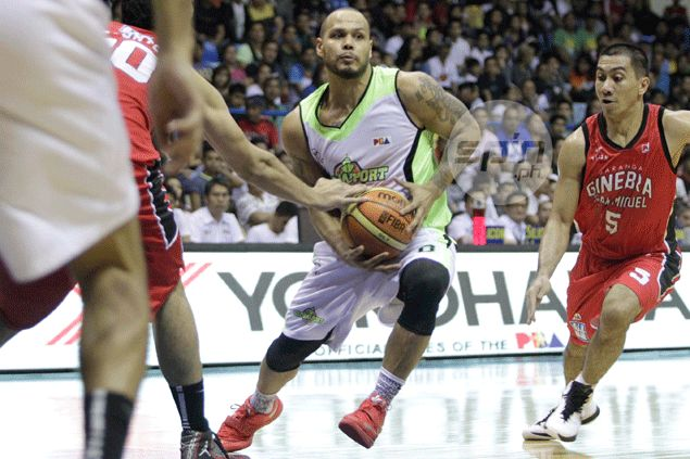 SOL SEARCHING: Awkward moment as Mercado struggles to find place on return to GlobalPort