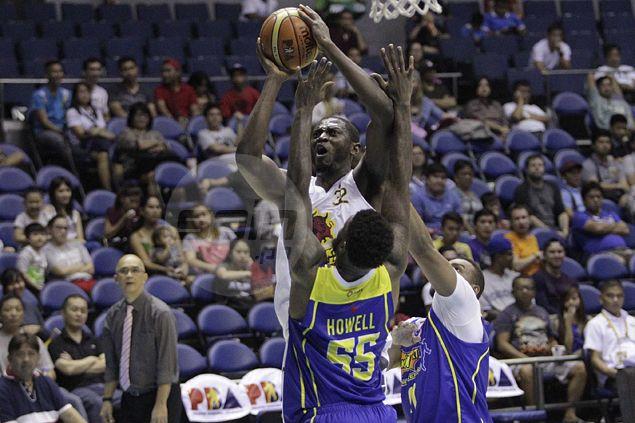 Barako import Solomon Alabi left frustrated as pleas to play defense fall on deaf ears