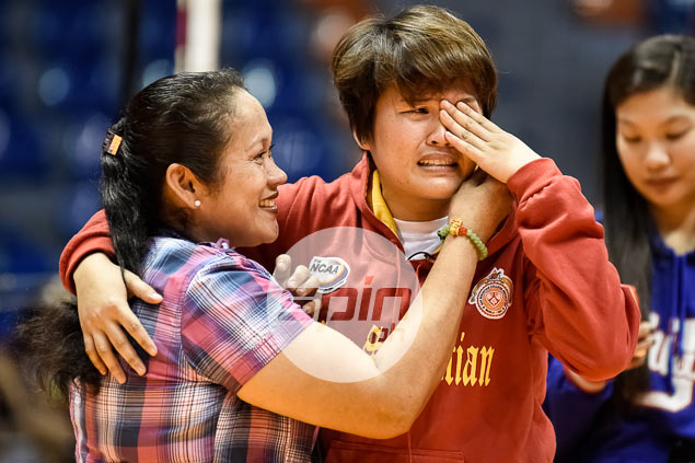Back-to-back NCAA MVP Gretcel Soltones reunited with mom after 13 years of separation