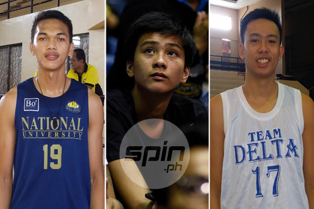 Teen giants Baltazar, Pangalangan, Sotto secure future of rivals La Salle, Ateneo