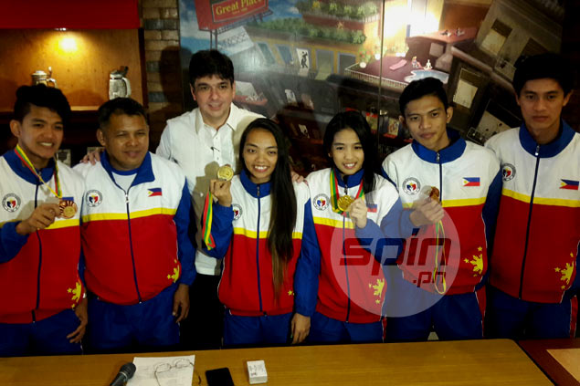 Pinays Jemyca Aribado, Yvonne Dalida savor surprise gold from South East Asian Cup Squash