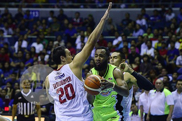 Stanley Pringle admits Ginebra's size left GlobalPort with a mountain to climb