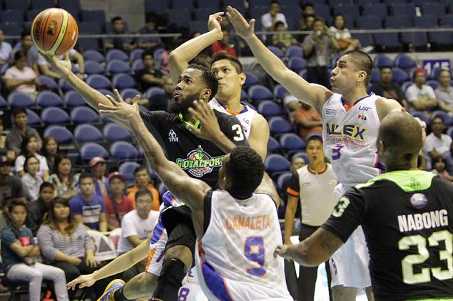 Gun-shy? Nope, I was just trying to take smart shots, says GlobalPort rookie Pringle