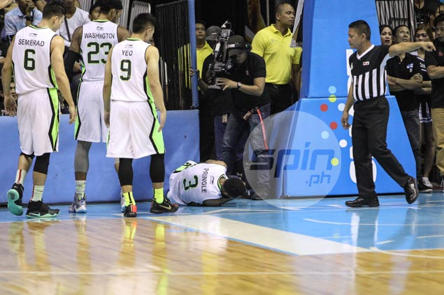 Stanley Pringle taken to hospital for X-rays on injured ankle, but GlobalPort quick to ease fears