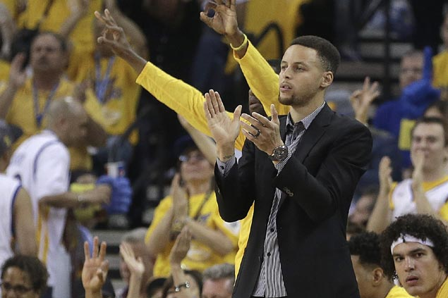 Steph Curry remains out for Game 3 as Golden State guns for 3-0 lead at Houston