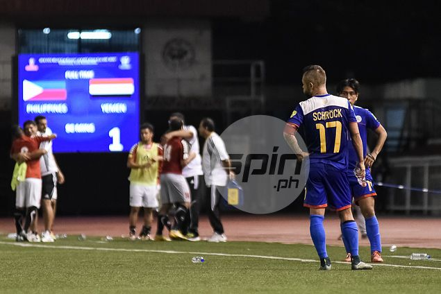 Dan Palami left to rue Azkals lack of focus, wasted chances in costly loss to Yemen