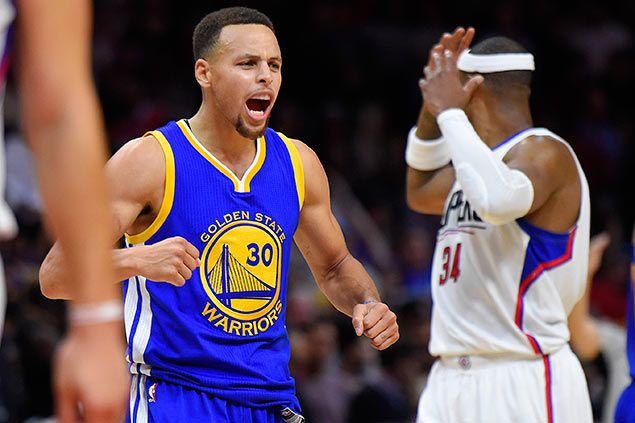 Asked why Warriors keep going, Curry answers, 'because we want to be great'