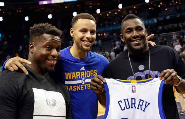 Steph Curry believes Warriors' win run will end sooner than his favorite NFL team Carolina Panthers