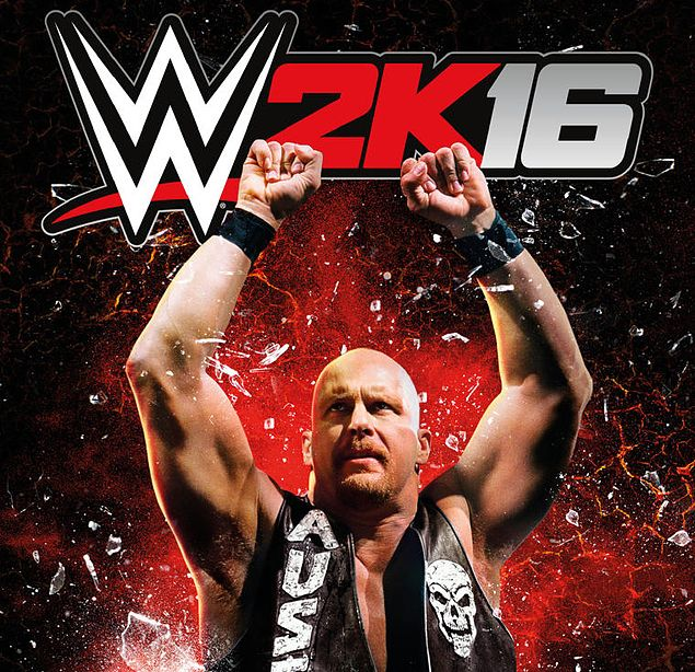 'Stone Cold' Steve Austin beats out younger WWE stars, graces 2K16 videogame cover
