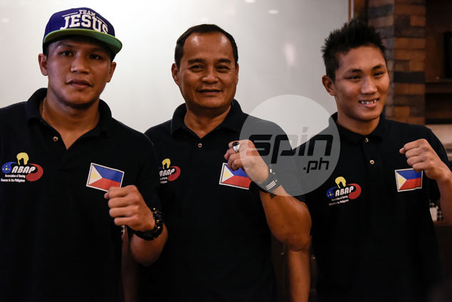 Rio-bound Ladon, Suarez unfazed by possibility of facing pro boxers in Olympics