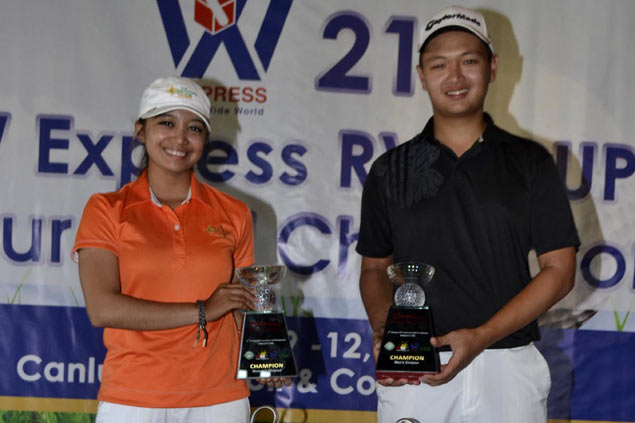 Jobim Carlos wins by two strokes, Princess Superal posts 12-shot victory in Canlubang