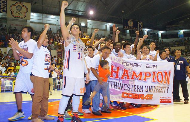 Landry Sanjo leads way as SWU Cobras overcome USC Warriors to clinch Cesafi basketball title