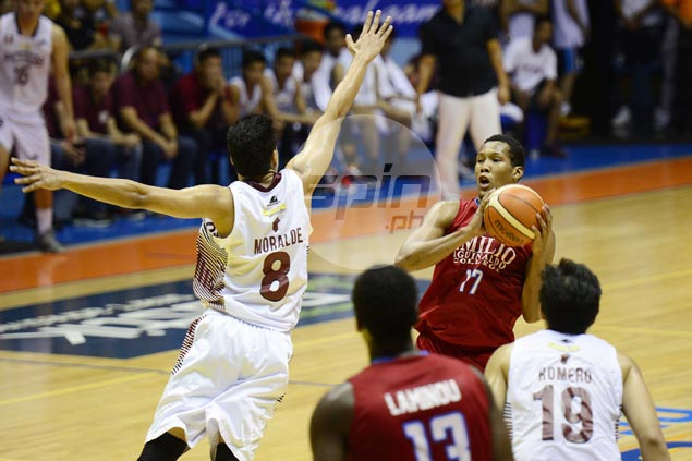 EAC pounces on shorthanded UP to barge into Filoil Flying V Cup win column
