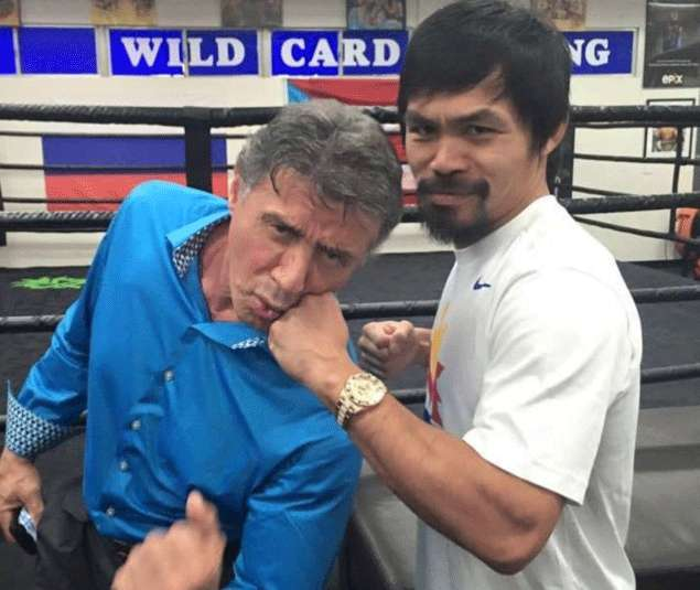 Pacquiao not appearing in Expendables 4, according to pal Sylvester Stallone