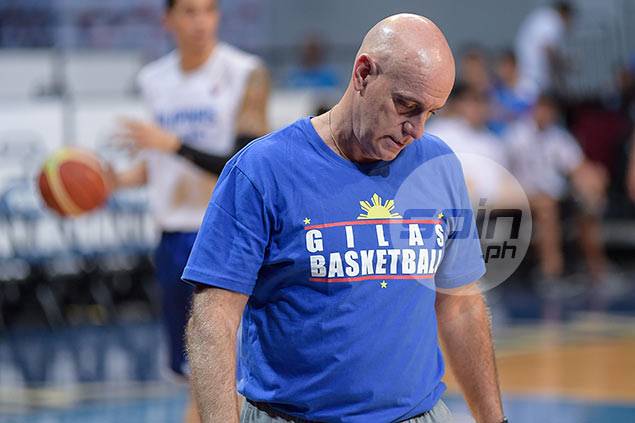 Coach Tab Baldwin embracing Gilas' underdog status against France, New Zealand