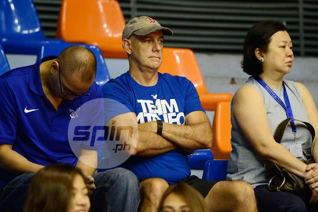 Tab Baldwin does homework, scouts Blue Eaglets game in first act as Ateneo coach