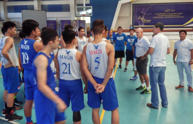 Tab Baldwin sees some 'future Blue Eagles' in Sacred Heart-Ateneo de Cebu players