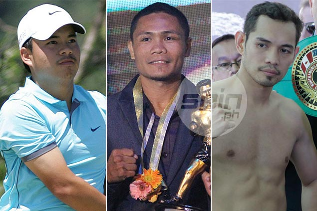 Spotlight on Donaire, Nietes and Tabuena as 2015 PSA Athletes of the Year