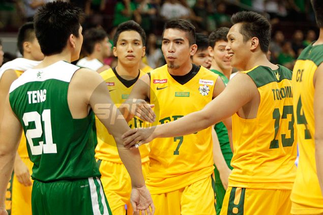 Jeron Teng on yet another La Salle loss to FEU: 'We will learn from the mistake'