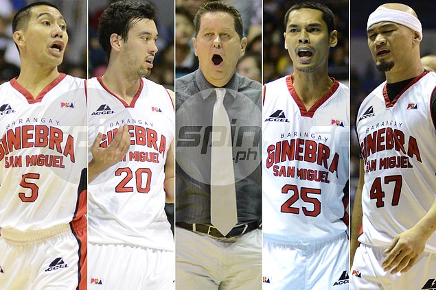 Can Mark Caguioa fit in triangle offense? Tim Cone defines Ginebra star's role