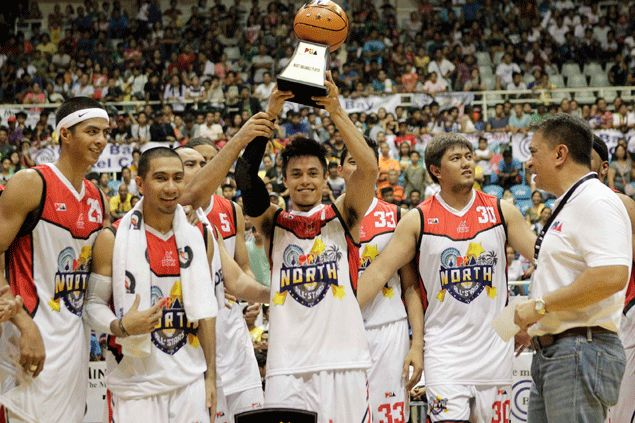 Terrence Romeo caps memorable PBA All-Stars performance with MVP award in North win over South