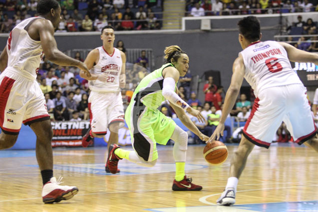 No tear in Terrence Romeo calf but GlobalPort star listed as questionable for Alaska match