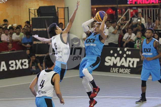 Romeo-led Manila West completes sweep of prelims matches in Fiba 3x3 World Tour