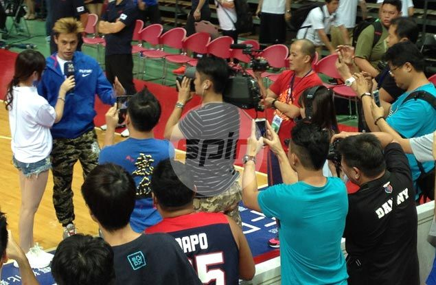 Taipei courtside reporter to popular Gilas rising star: 'Romeo, can I be your Juliet?'