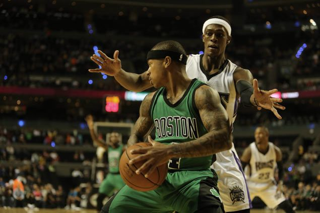 Boston Celtics romp as Isaiah Thomas torments former team Kings