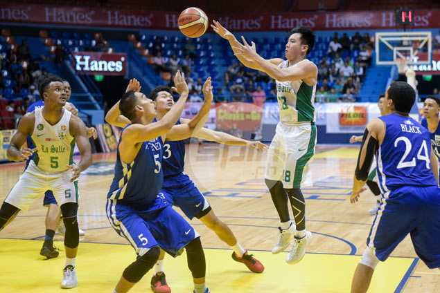 Thomas Torres going all out for a championship in bid for UAAP swan song