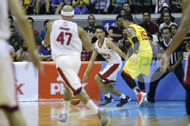 Marlou Aquino says 'pass-first' guard Scottie Thompson exactly what doctor ordered for Ginebra