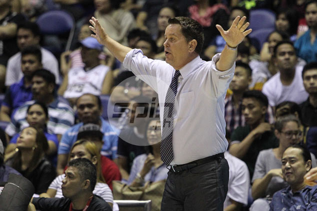 Tim Cone upset over Ginebra's 'lack of discipline' but keeps his mouth shut