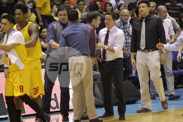 Outspoken Tim Cone not in the mood to talk after early end to Star-crossed season