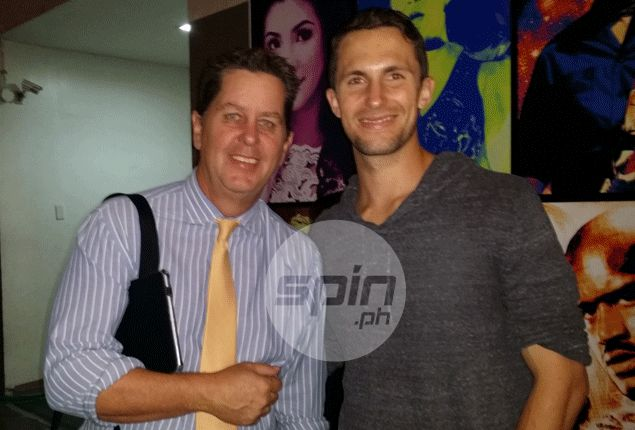 Visiting American shooting coach gets taste of world-famous Filipino hospitality - from Tim Cone and family